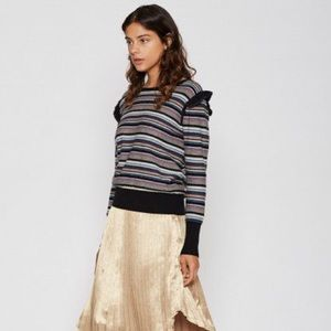 Joie Cais C Striped Sweater